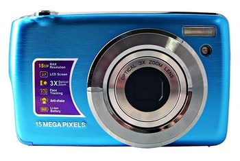 winait still digital camera 15.0 MP 2.7'' TFT display and 4 x digital zoom support32GB DC-500OE