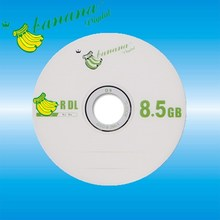 Double layer blank discs 8.5GB 8X for DVD