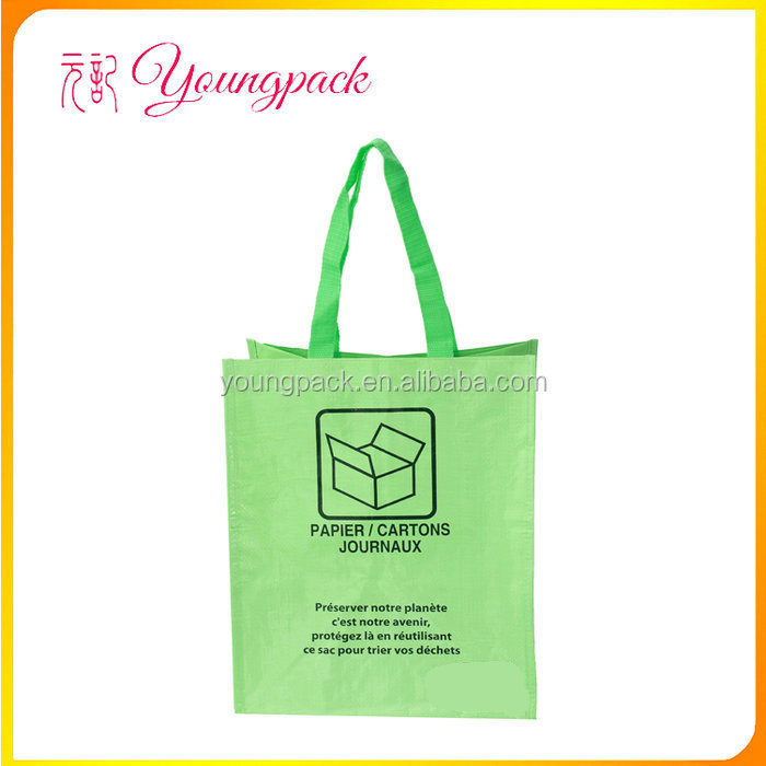 High Quality Eco-friendly PP Woven Tote Shopping Bag