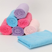 Solid Color Absorbent Best Microfiber Drying Towel