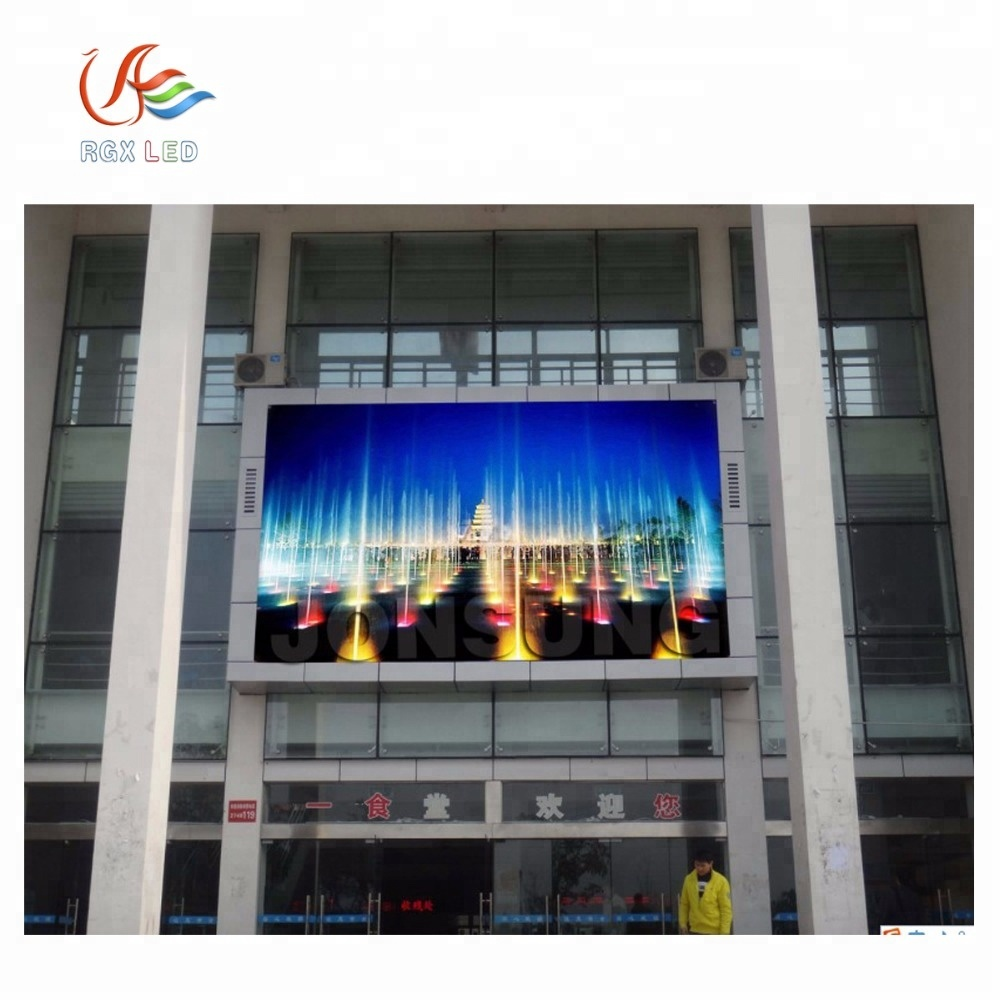 RGX Fixed On The Wall Outdoor <strong>Led</strong> <strong>Display</strong> /<strong>led</strong> Video Wall <strong>P10</strong> P8 P6 P5 P4 <strong>Advertising</strong> Screen