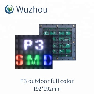P3 Outdoor full color display screen Warranty 2 years full color led display