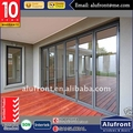 AS2047 Australia Standard aluminium folding door with toughened double glazing