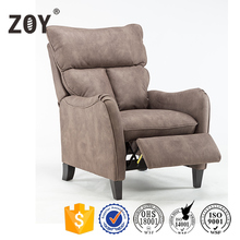 Fixed seat pushing back recline cinema chair ZOY-p6035