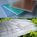 Trip wall R-Structure Polycarbonate Sheet 8mm for roofing tile