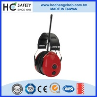HC-RA200 CE EN352-8, EN352-1, ROHS sound proof electronic ear muffs with radio