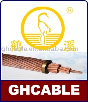 Bare Copper Wire Solid AWG14 Overhead Conductor