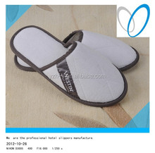 custom disposable and washable hotel slippers