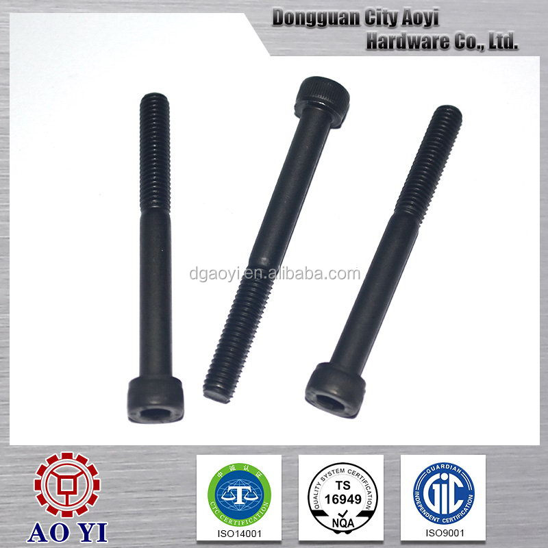Best quality latest nuts bolts black steel