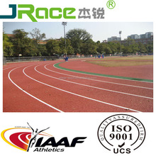 Skid Resistance synthetic running track