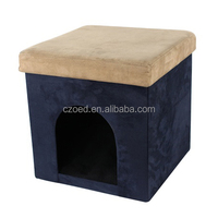 Cute Pet House Ottoman One Door For Dog