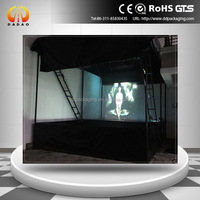 3d holographic transparent nano coating mylar film PI film 8 meters wide