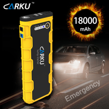 China Supplier Power Supply and Car Jump Start Kit 12v 18000mAh Auto Jump Starter Booster Pack