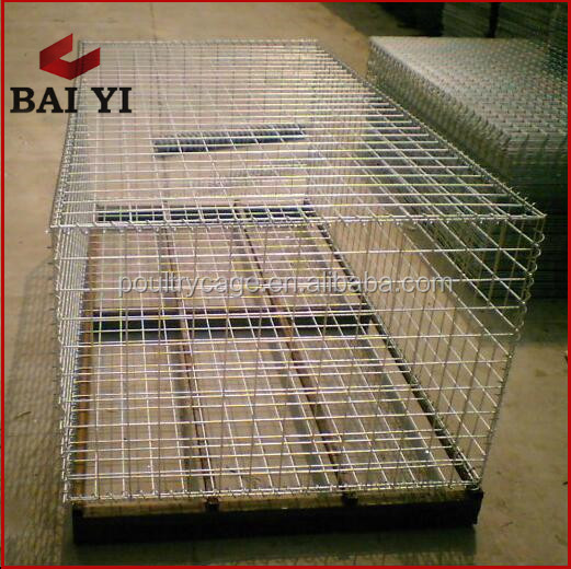 1x1 PVC Coated Welded Wire Mesh / Gabion Box Low Prices / Gabion Mattress