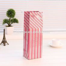 Punch Studio Party Christmas Holiday wine paper gift bag/wine bag for retail /wholesaler