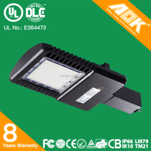 ISO Certified Factory 140lm/w Type III IV V IP66 waterproof UL CE CB RoHS approved 150W LED Street Light