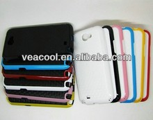 Plate+Color Bumper Frame TPU case Cover for Samsung Galaxy Note 2 N7100 case