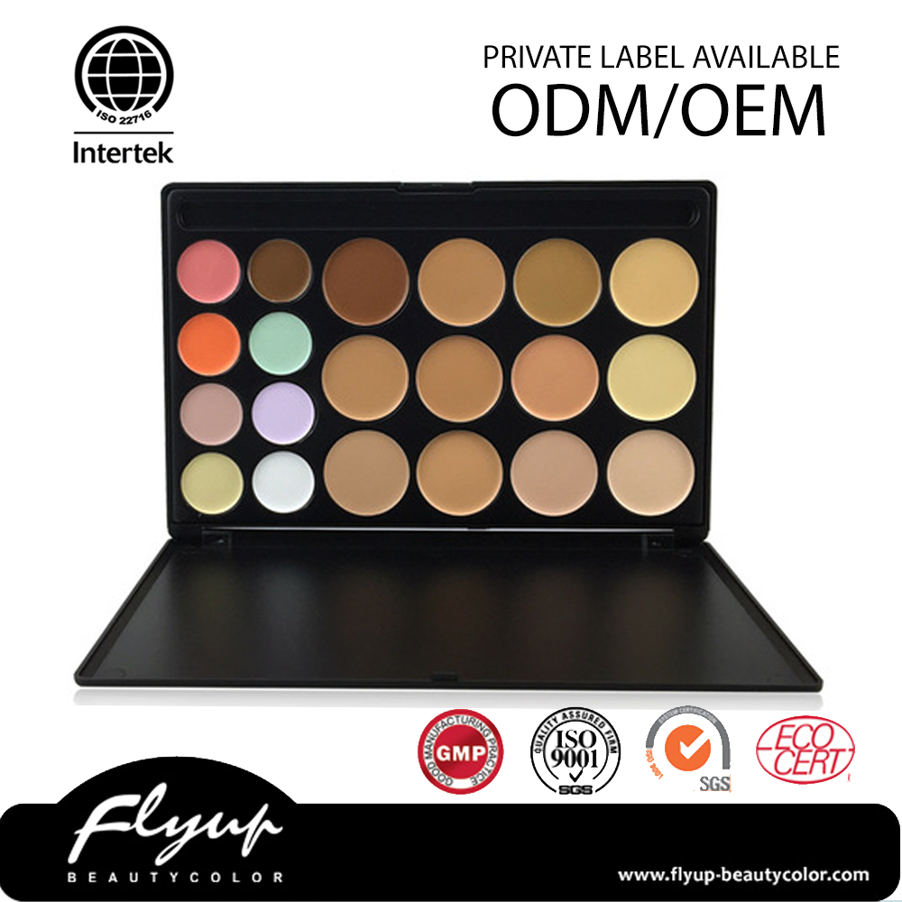 High standard cosmetics concealer palette private label