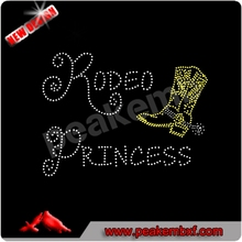 Venta <span class=keywords><strong>del</strong></span> <span class=keywords><strong>rodeo</strong></span> arranque princesa vaquera occidental bling rhinestone adhesivo de
