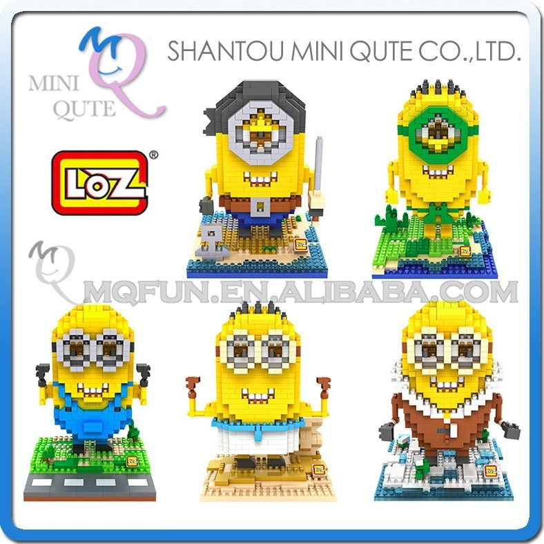 Mini Qute best selling christmas gifts 2016 building blocks loz diamond block 3d puzzle educational toys 3d games 3d puzzle toy