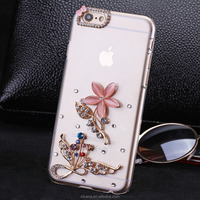 wholesale selling products luxury diamond pc cell phone case for iphone 6 plus