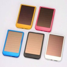 New listing solar travel mobile charger tablet charger game player charger