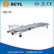 YSC-T9 Aluminum Alloy foldaway Stretcher for Funeral