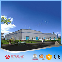 Leading manufacturer of prefabricated warehouse steel structure PEB designer steel construction products price