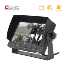 Reliable and Cheap on dash 7 inch car quad monitor tft lcd split table