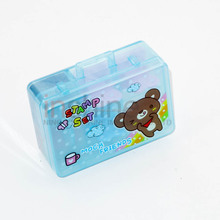 DIY cartoon seal stamper kids stamp set , craft stamps stationery set , lovely heart shaped stamps