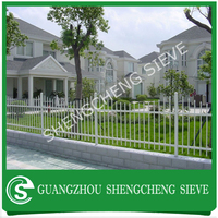 Assembled Decorative metal fence wrought iron fencing lowes