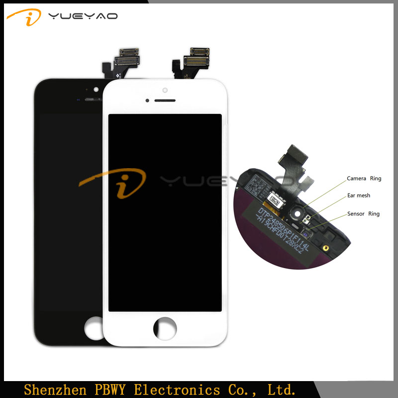 Wholesale For iPhone 5 Lcd Touch Screen With Sigitizer Ass,Replacement Display Digitizer For iPhone 5 5G Mobile Phone Lcd