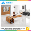 Wooden table big boss modern director office table design LS613