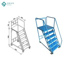 Industrial Safety Protection Welding Step Stainless Steel Ladder