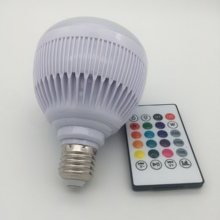 LED Music Bulb 12W LED lighting with Remote Control