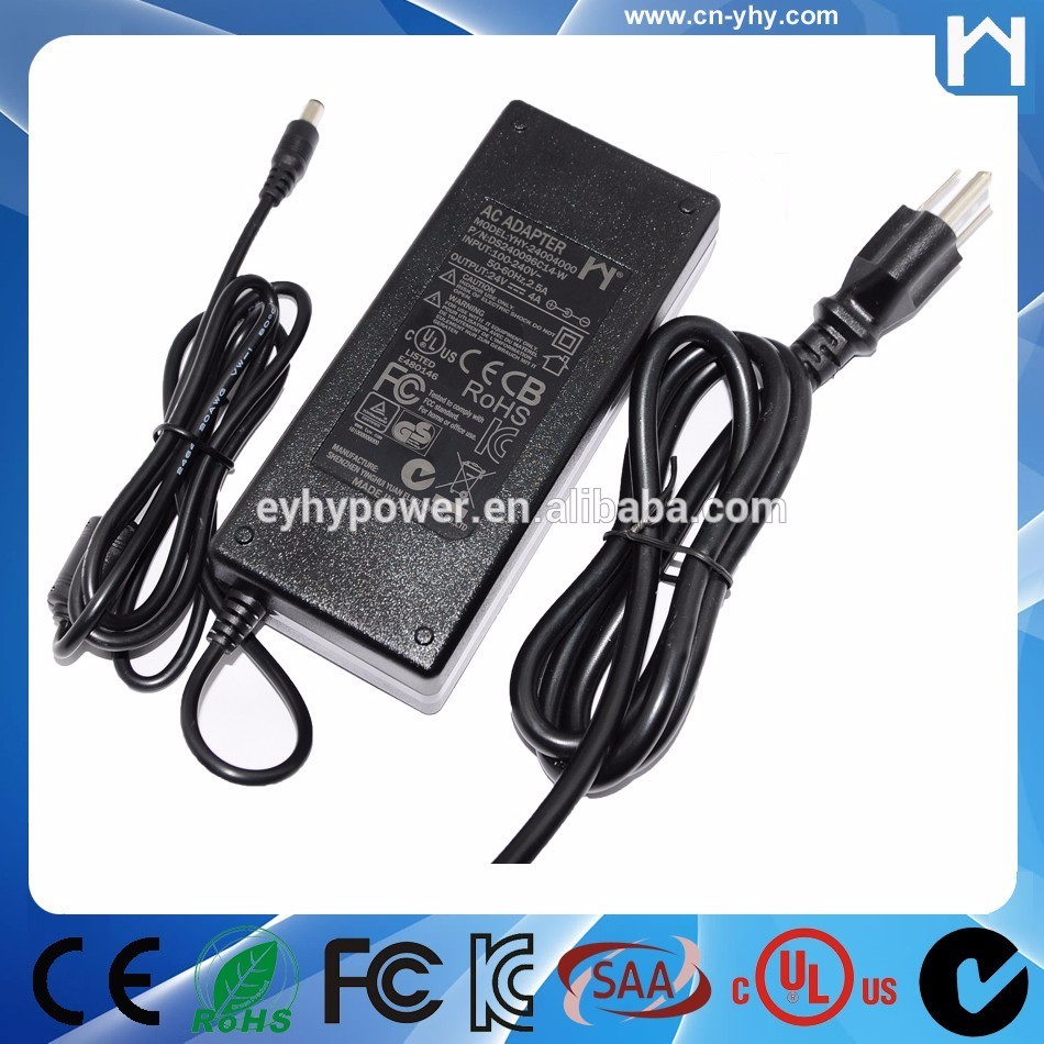 12V7.5A power adapter 90W power supply with CE ROHS UL