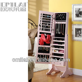 bedroom set mirror furniture jewelry armoire
