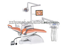 Newest Luxury Dental Chair Unit with LED Sensor Lamp Light Cure and Scaler,Christmas Sales