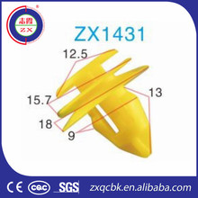 Trustworthy Supplier plastic car fastener auto body panel clips