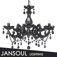 vintage black crystal chandelier elegant european style chandelier pendant light antique home hotel unusual chandelier for sale