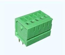 10mm spacing and 5 pins PCB screw terminal block and wire connector for fuse, contactor and transformer from China