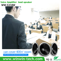 Mini megaphone with 2200mAh battery ,support TF Card USB FM