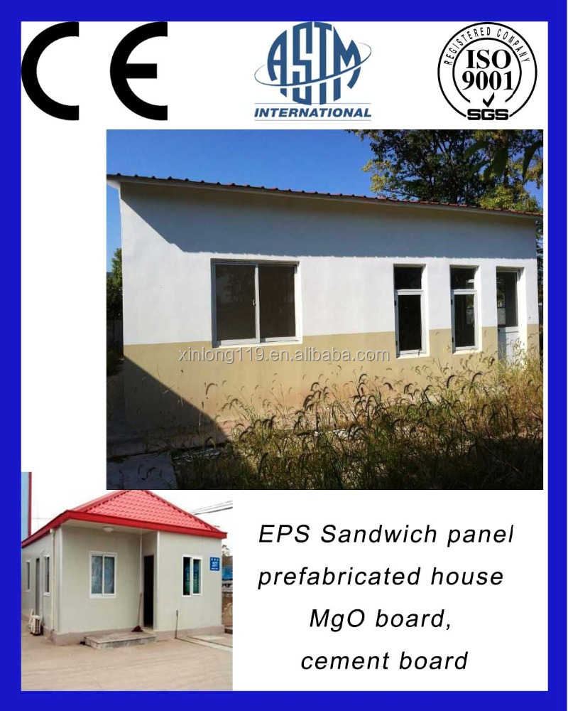 CE testing standard EPS sandwich panels to make prefabricated homes