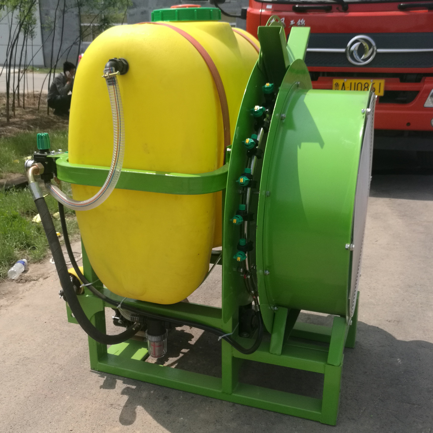 Hot selling tractor PTO driven agricultural sprayer for orchard