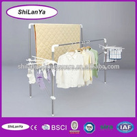 multi-purpose stack curtain hanger