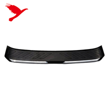 Rear Boot Bumper Guard Sill Plate Molding For Honda FIT JAZZ 2014-2017