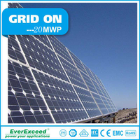 EverExceed 2016 best price high quality 20kw solar panel system with solar energy system