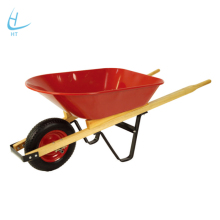 WB4014 wooden handle wheelbarrow, motorized wheel barrow