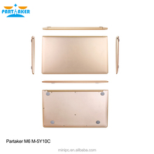Partaker M6 11.6 inch laptop computer price in china with M-5Y10C 4G RAM 64G SSD