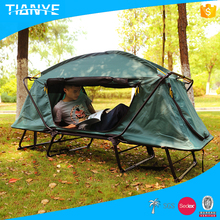 popular high quality portable waterproof folding camping outdoor folding used canvas camper trailer tents